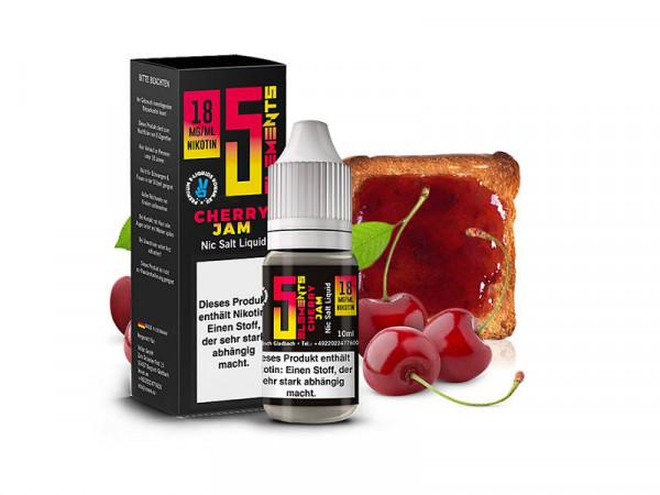 5-ELEMENTS-Cherry-Jam-Nikotinsalz-Liquid-10ml-kaufen