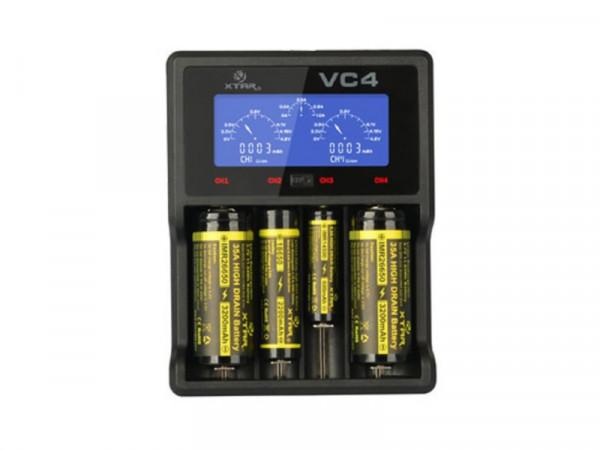 XTAR VC4 Ladegerät 4-Schacht