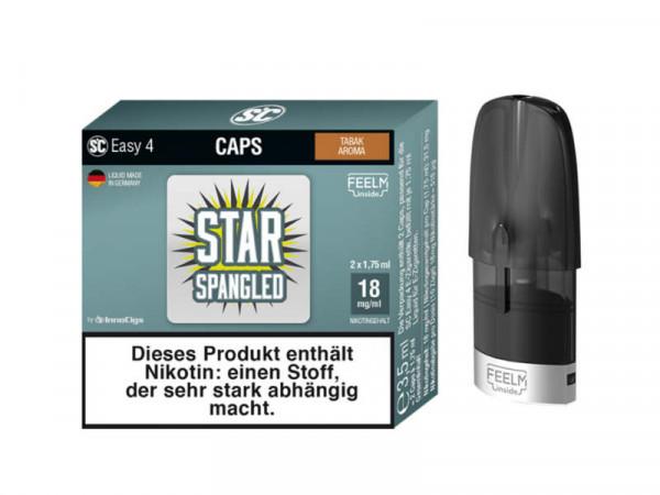 SC Easy 4 Caps Star Sprangled Tabak