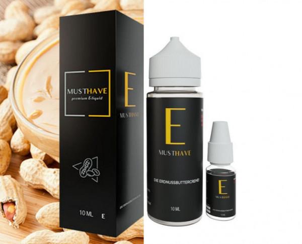 Must Have Aroma E 10ml mit 120 ml Leerflasche Set