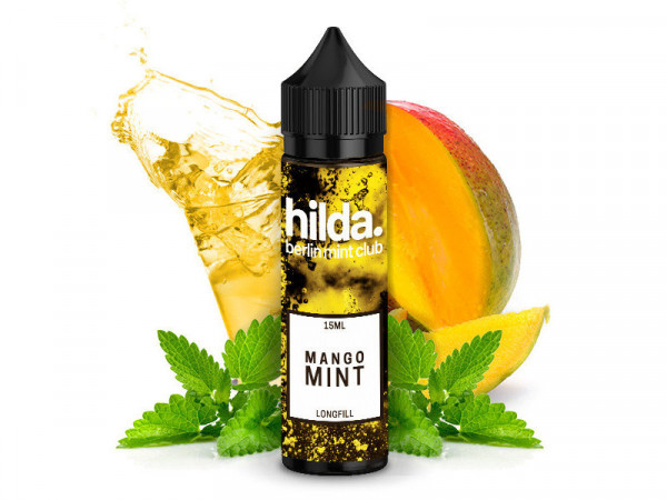 Hilda. Berlin Mint Club Mango Mint Aroma 15ml