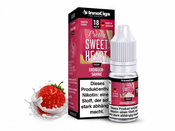 InnoCigs-Pretty-Sweatheart-Erdbeer-Sahne-E-Liquid-10ml