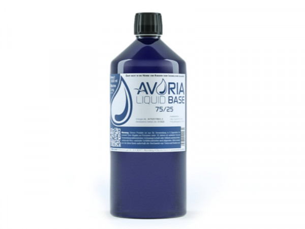 Avoria Base VPG 75 / 25 0mg 1000ml