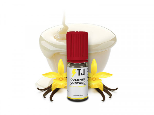 T-Juice-Sweets-and-Desserts-Colonel-Custard-Aroma-10ml-kaufen