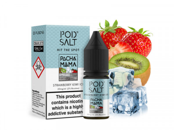Pod Salt Fusion Pacha Mama Strawberry Kiwi Ice