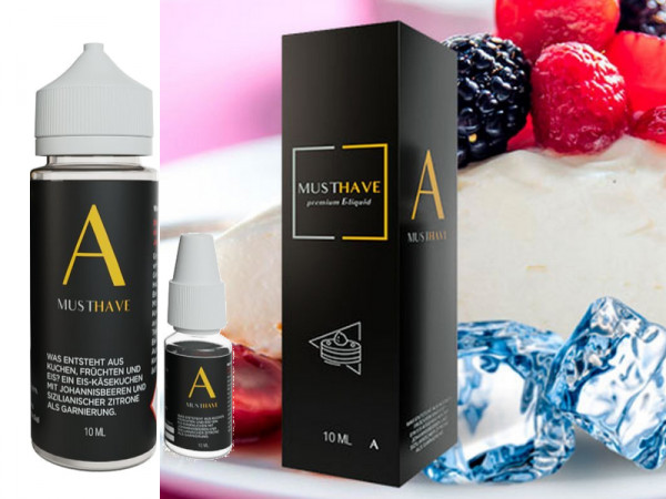 Must have A Aroma Set 10ml + 120ml Leerflasche