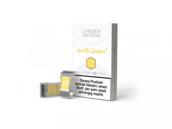 LYNDEN GO Vanilla Custard Pod
