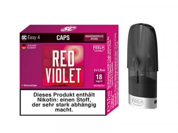 SC Easy 4 Caps Red Violet Amarenakirsche