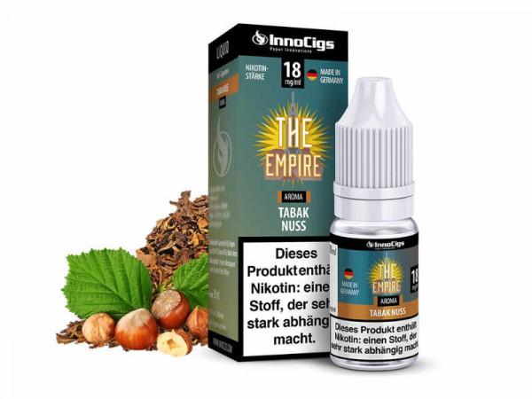 InnoCigs-The-Empire-Tabak-Nuss-E-Liquid-10ml