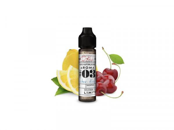 Tom Klark's Zitrone-Kirsch Aroma #03 natürliche Aromen