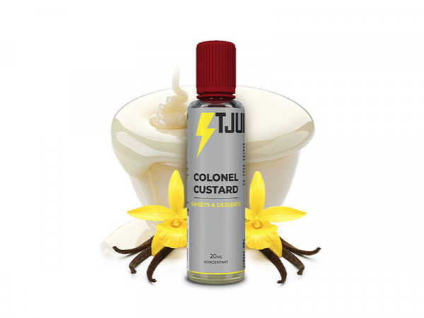 T-Juice-Sweets-and-Desserts-Colonel-Custard-20ml-Longfill-Aroma
